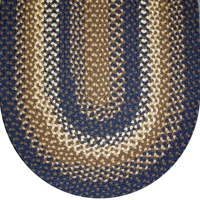 Basket Weave Braided Rug Collection