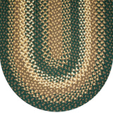 816 Hunter Green Basket Weave