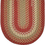 812 Brick Red Basket Weave