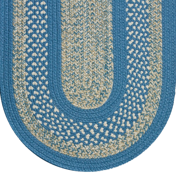 Braided Rug Williamsburg Blue 121Classic