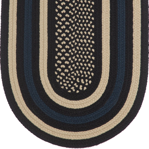 Law Enforcement Braided Rug
