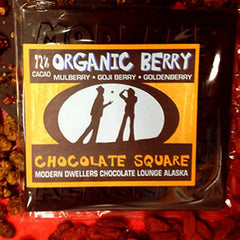 72% Organic Berry Chocolate Bar