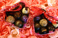 Heart Box 9 truffle set