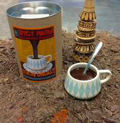 Large Modern Dwellers Spicy Mayan Drinking Chocolate