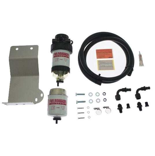 Isuzu MUX 2013-2017 Dual Battery Fuel Manager Pre-Filter Kit - Fuel Screening Australia