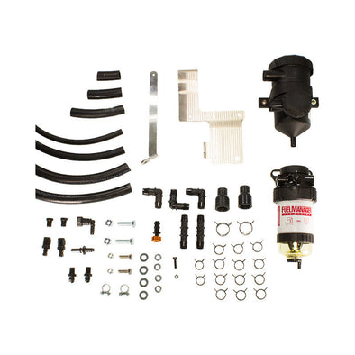 Mazda BT 50 2.2/3.2L Fuel Manager Pre-Filter Kit and Pro Vent Catch Can Combo - Fuel Screening Australia