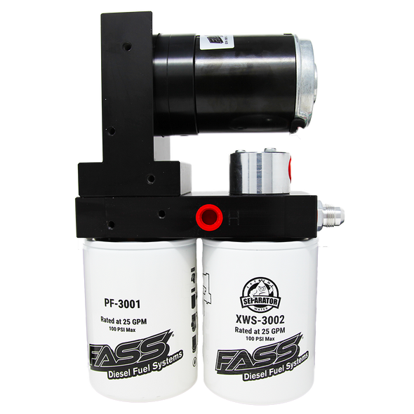 TITANIUM SIGNATURE SERIES DIESEL FUEL LIFT PUMP 165GPH UNIVERSAL (TS 165G) - Fuel Screening Australia