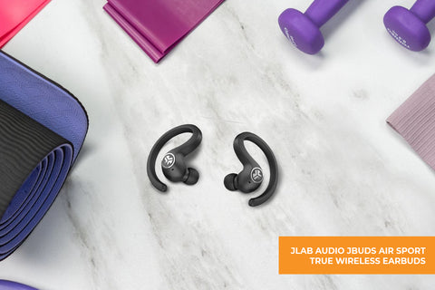 JLAB AUDIO JBUDS AIR SPORT TRUE WIRELESS EARBUDS-For sports and fitness