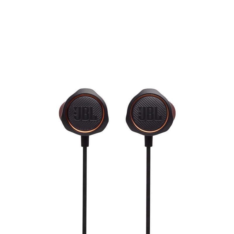 JBL Quantum 50 | Wired in-ear gaming headset with volume slider and mic mute