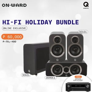 Q Acoustics Hi-Fi Holiday Home Theater Bundle