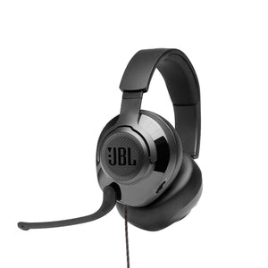 JBL Quantum 200 Wired Over-Ear Gaming Headset with Flip-up Mic & Discord Certified.