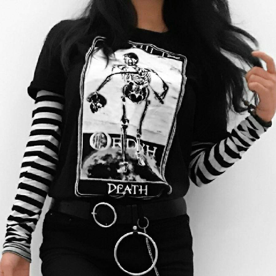 """Death"" Major Arcane Tarot Unisex T-Shirt - Ordyh.com"