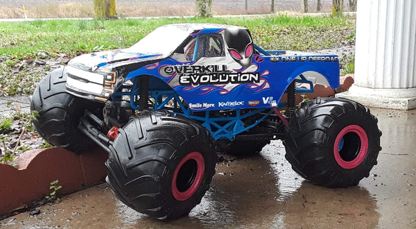 Overkill Evolution Vinyl Wrap