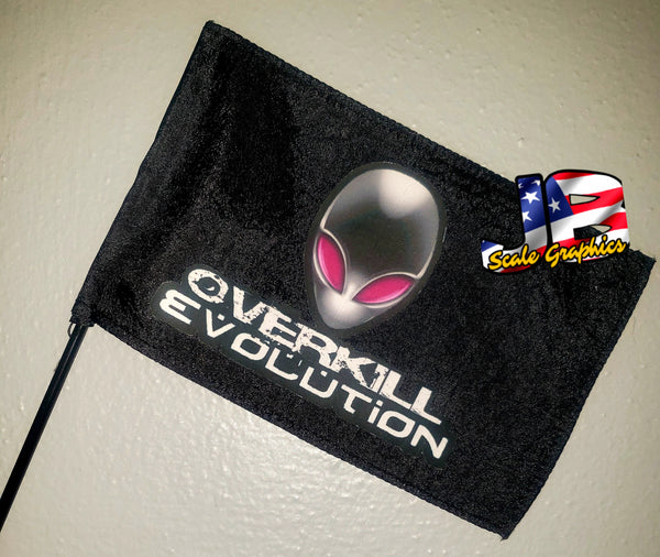 Overkill Evolution Flag