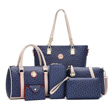 Load image into Gallery viewer, Newest six-piece set of French bags - onekfashion