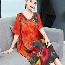 Load image into Gallery viewer, Newest floral dress from HK IN 2019 - onekfashion