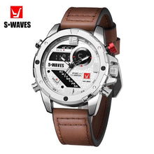 Load image into Gallery viewer, S-WAVES Double display screen quartz watch - onekfashion