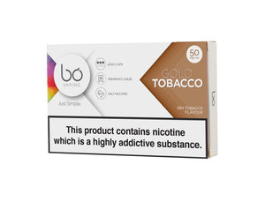 Bo Caps Gold Tobacco