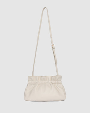 ASHER CROSS BODY BAG BONE LEATHER