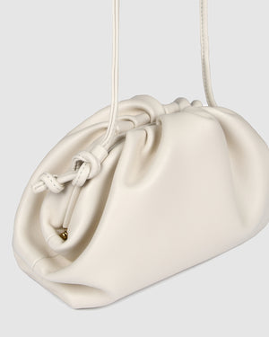 BAMBIE CROSS BODY BAG BONE LEATHER