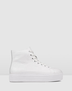 BENNY SNEAKERS WHITE LEATHER