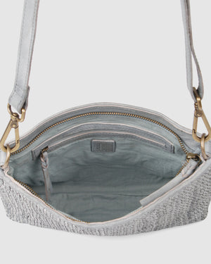 BIBA NIWOT CROSSBODY BAG BLUE LEATHER