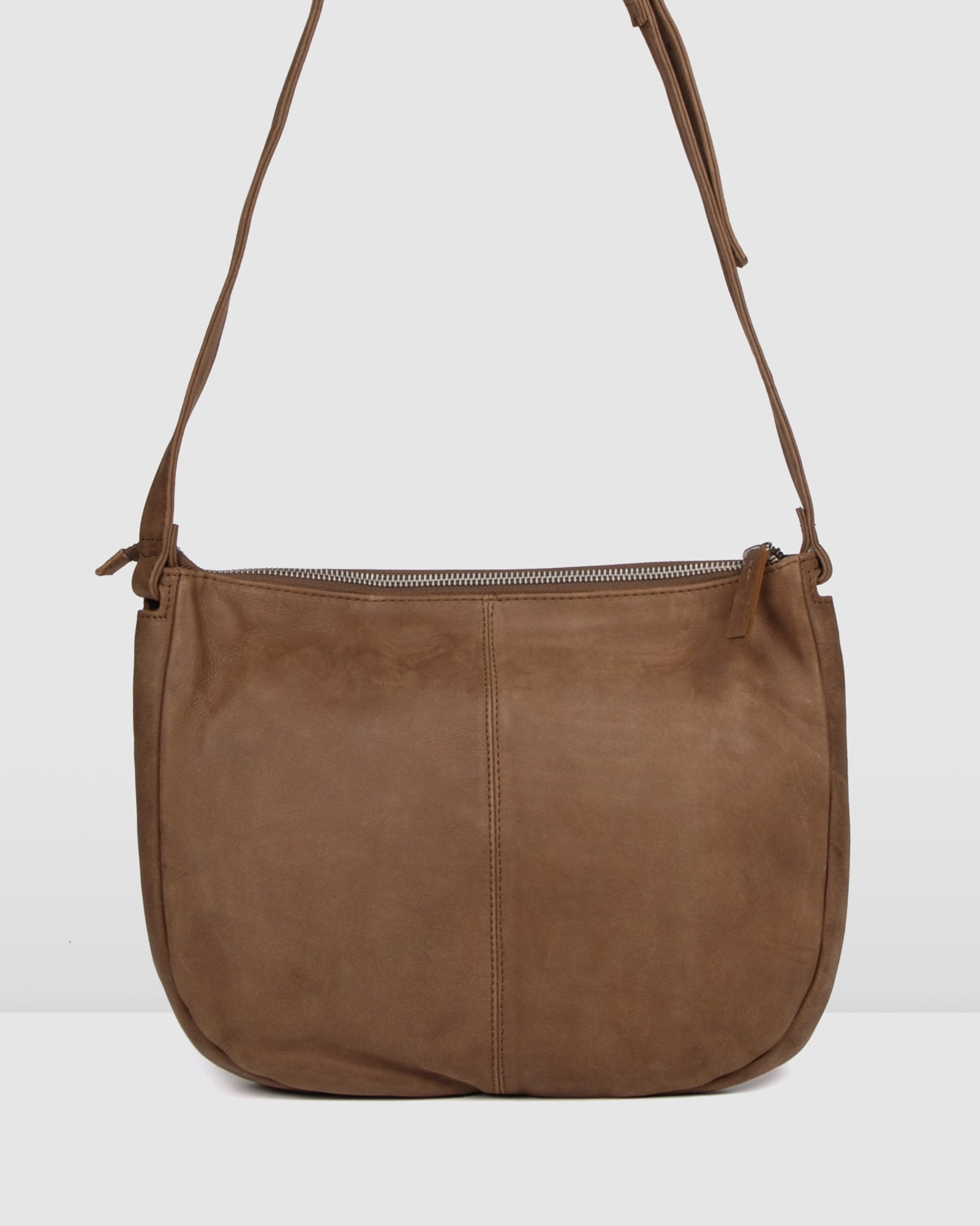 BIBA ARKANSAS CROSS BODY BAG TAN LEATHER