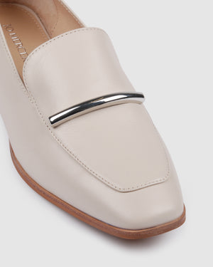 BOTANIC LOAFERS BONE LEATHER
