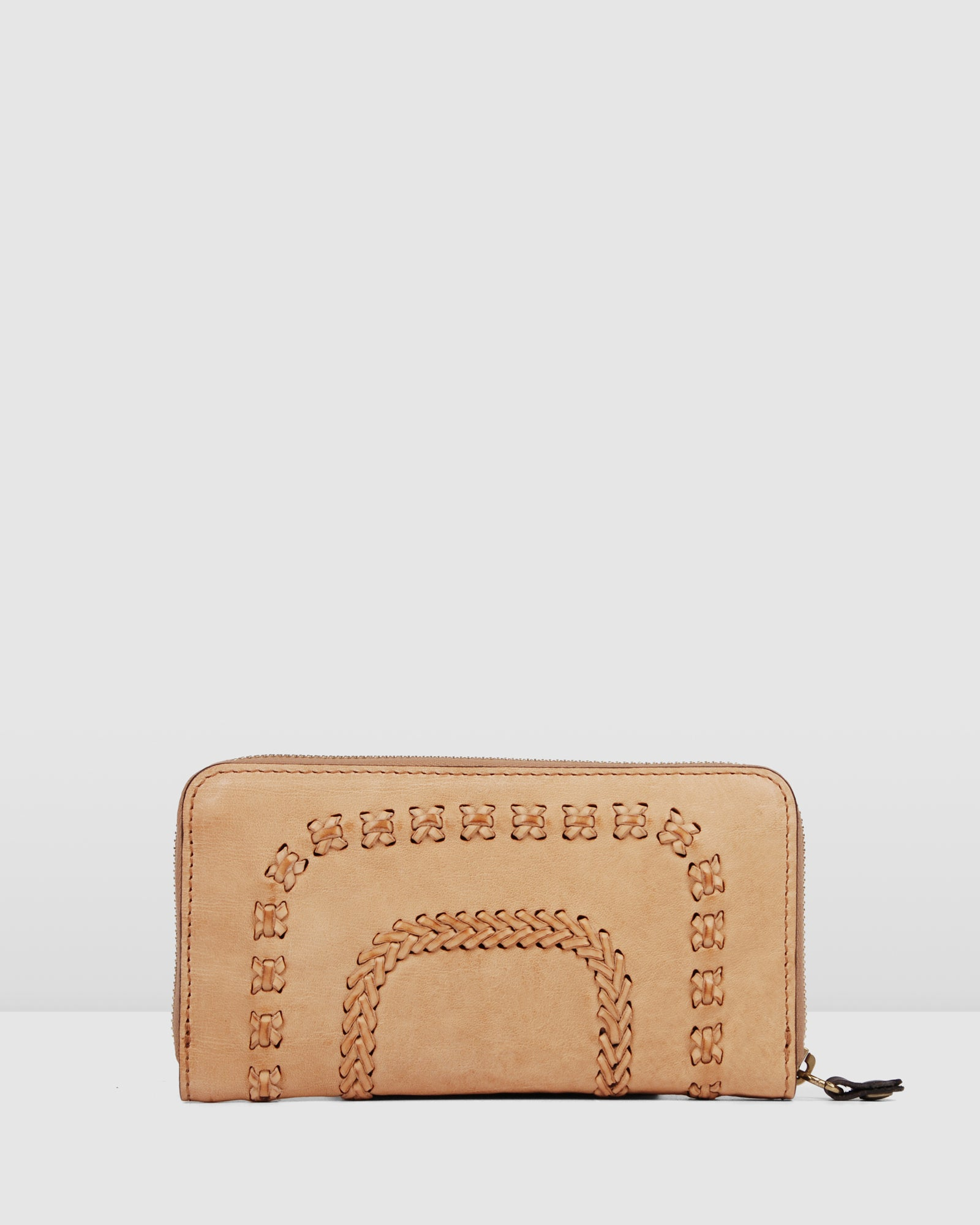 CAMPOMAGGI ATHENS WALLET BEIGE LEATHER