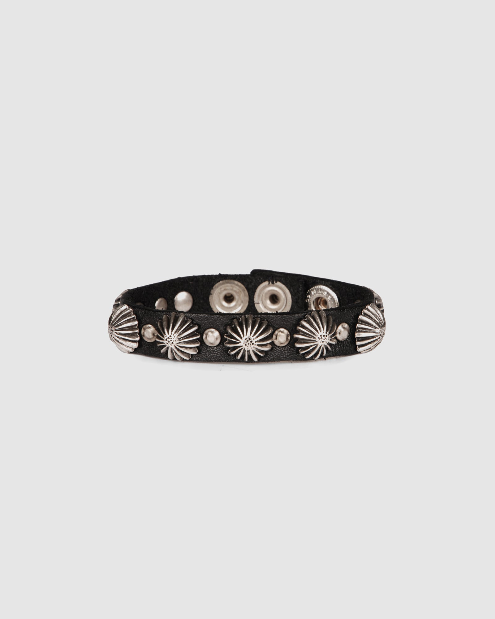CAMPOMAGGI GRANADA BRACELET BLACK LEATHER