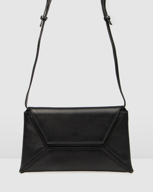 CASATI CLUTCH BLACK LEATHER