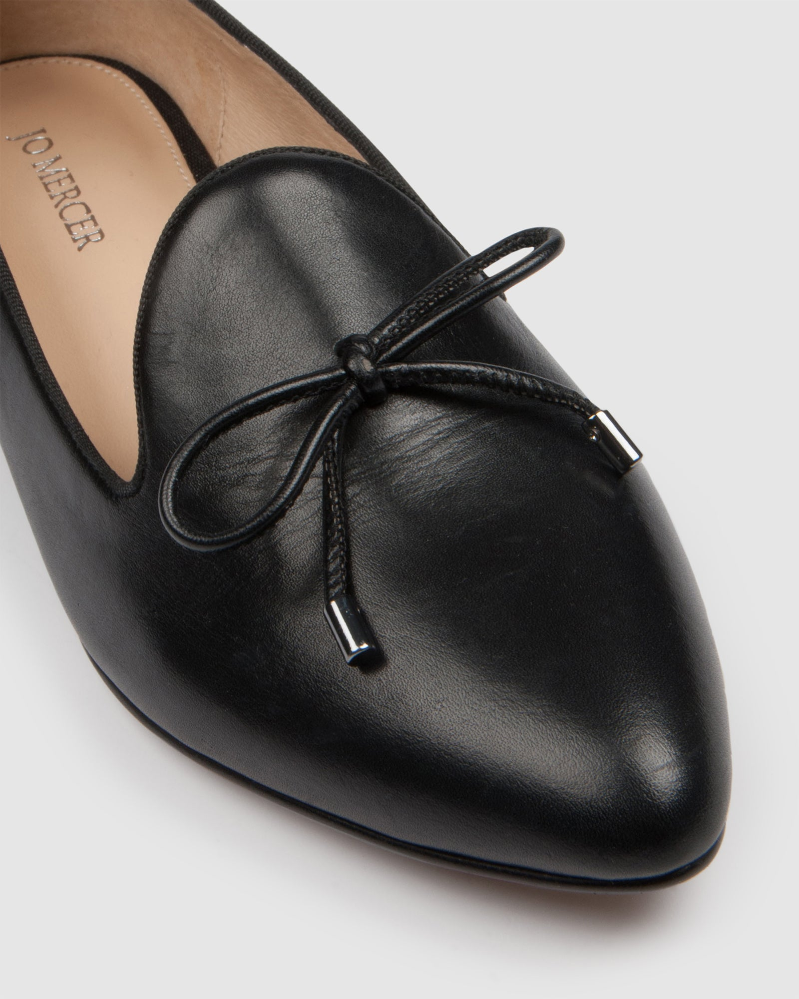 CLAUDIA LOAFERS BLACK LEATHER