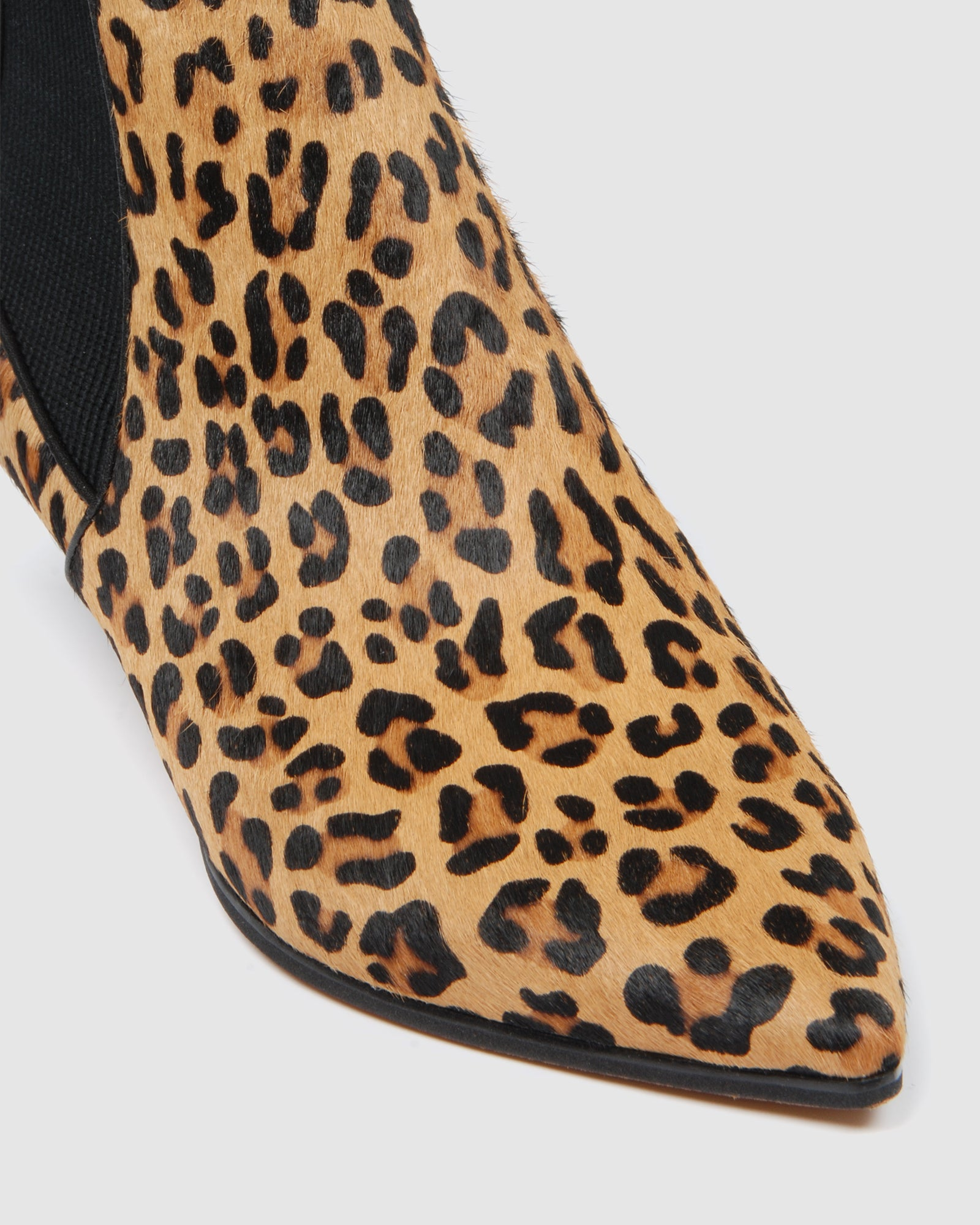 DELLA MID ANKLE BOOTS LEOPARD