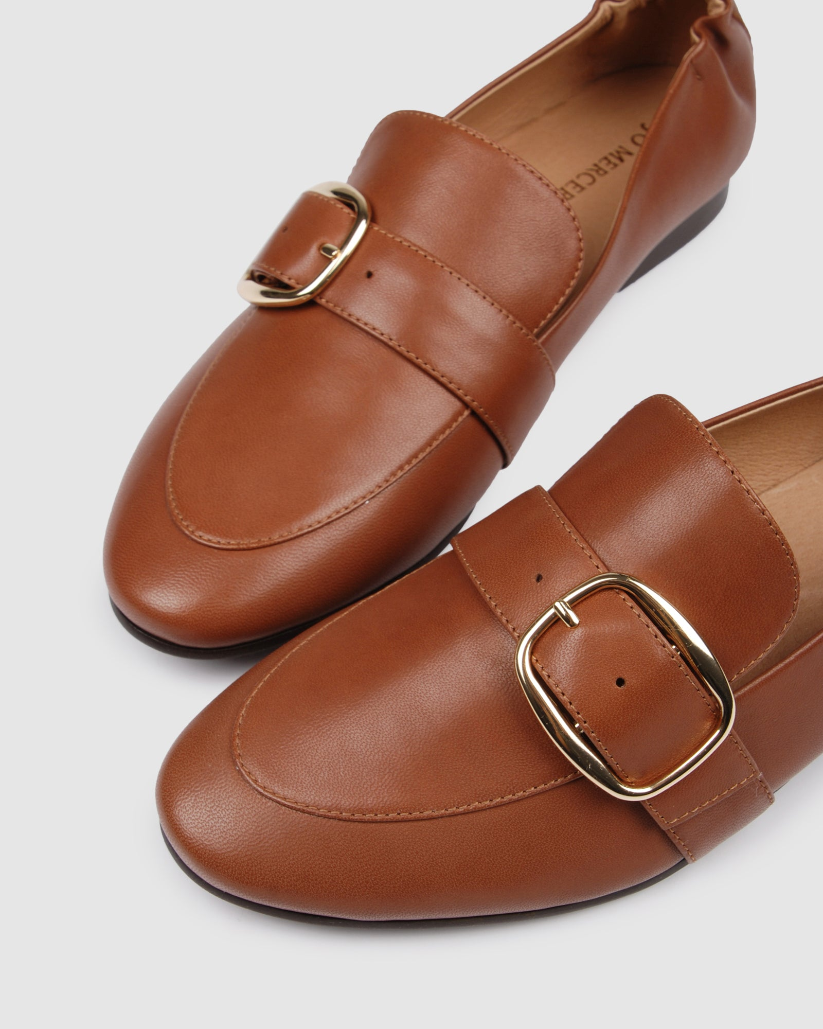 DORSET CASUAL FLATS TAN LEATHER