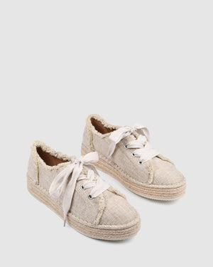 FAWN CASUAL FLATS NATURAL