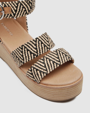 FLEET MID SANDALS BLACK MULTI