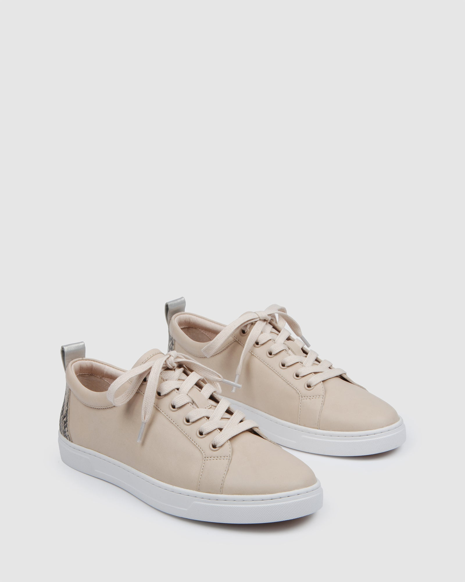 FORESTER SNEAKERS BONE LEATHER