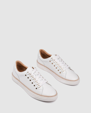 FRASER SNEAKERS WHITE LEATHER