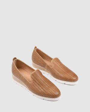 GREVILLE LOAFERS TAN LEATHER
