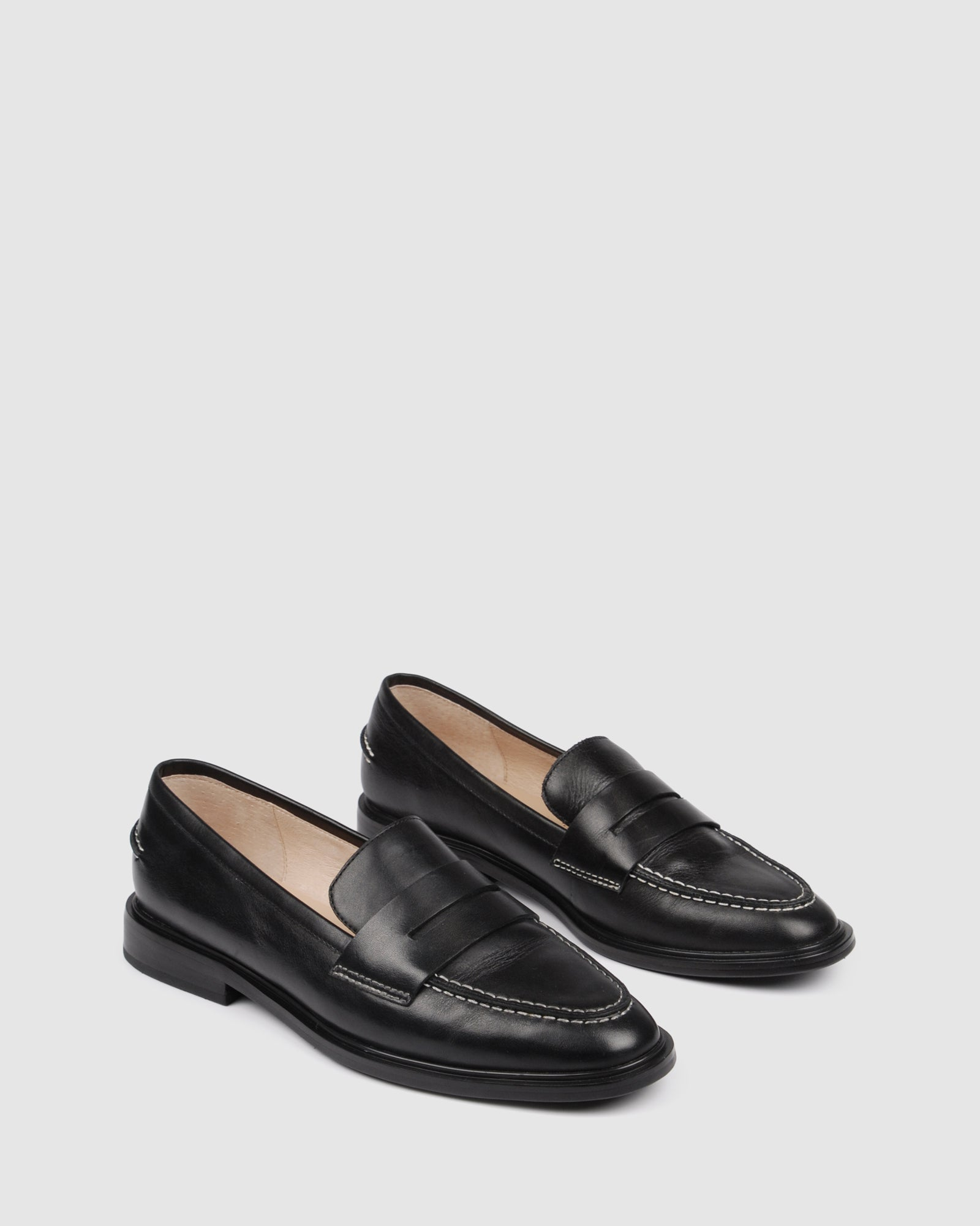 HAMMOND LOAFERS BLACK LEATHER