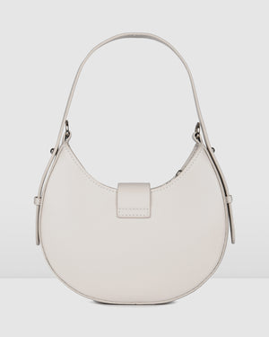 KIWI SHOULDER BAG BONE LEATHER