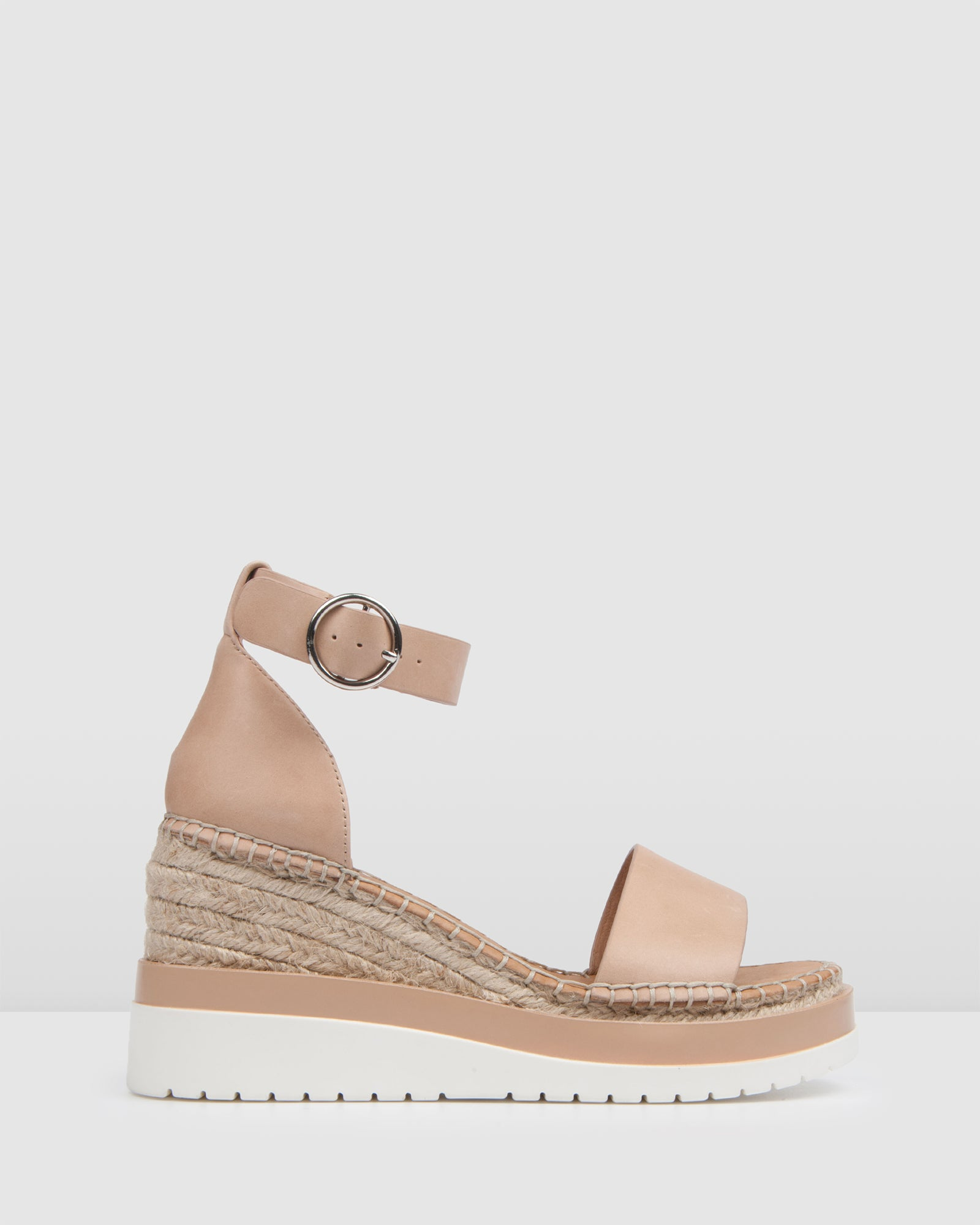 b188d746dba KLUME MID HEEL WEDGE ESPADRILLES NATURAL LEATHER