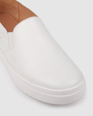 MADDIE SNEAKERS WHITE LEATHER