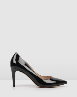 NIGELLA HIGH HEELS BLACK PATENT