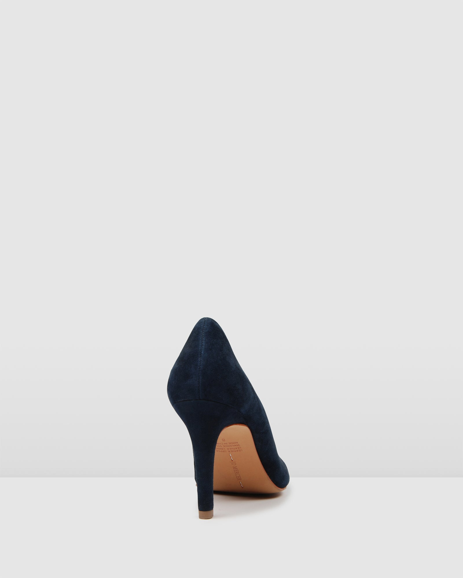 NIGELLA HIGH HEELS NAVY SUEDE