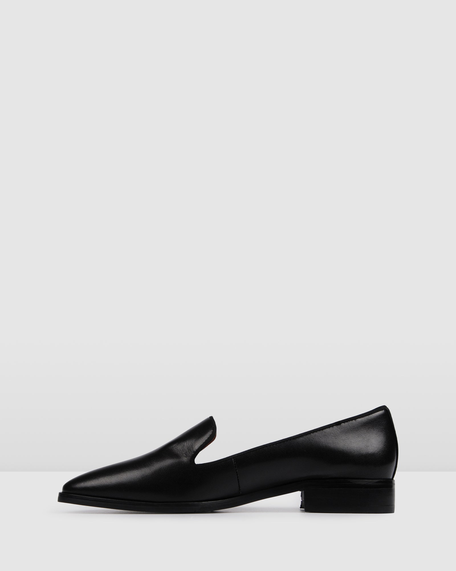 NODY LOAFERS BLACK LEATHER