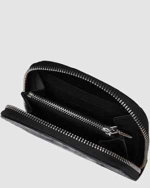 NORA WALLET BLACK CROC