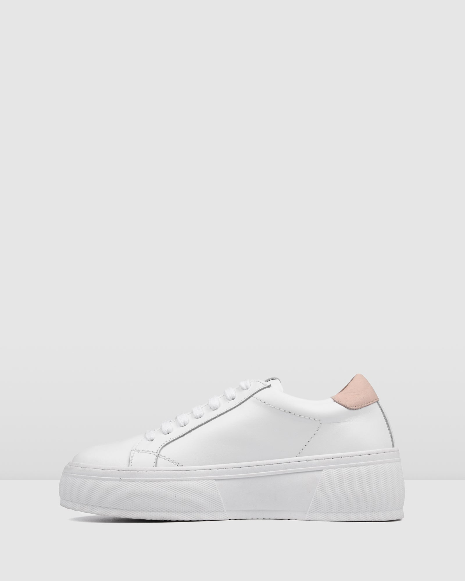 QUEENIE SNEAKERS WHITE LEATHER