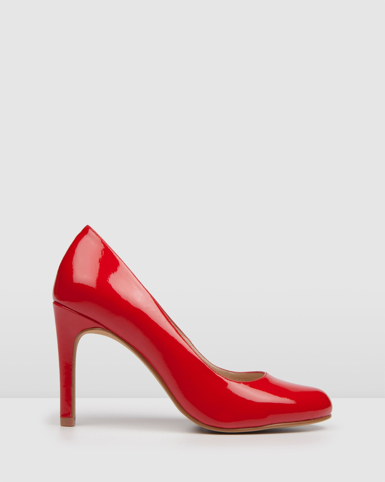 QUIP HIGH HEELS RED PATENT