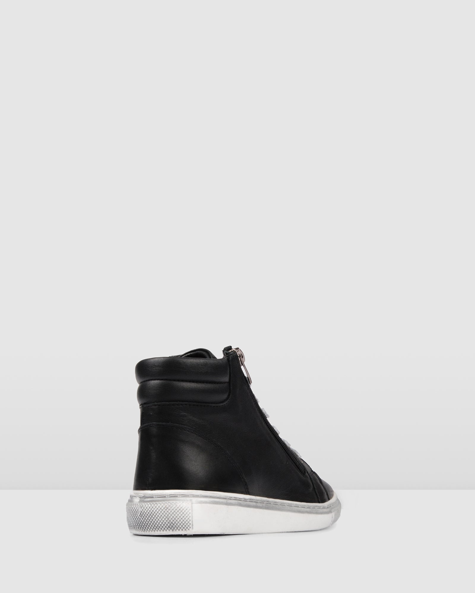 RAMONA SNEAKERS BLACK LEATHER